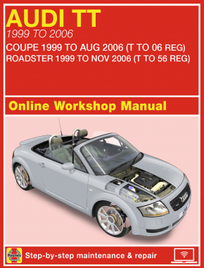 Audi TT (99 to 06) Haynes Online Manual