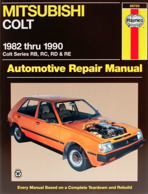 Mitsubishi Colt (82-90) Haynes Repair Manual