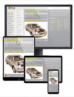 Mitsubishi Magna & Verada (96-05) Haynes Repair Manual
