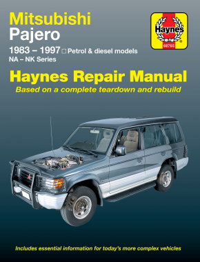 Mitsubishi Pajero (83-97) Haynes Repair Manual