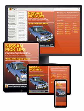 Nissan Frontier Pick-up (98-04), Xterra (00-04) & Pathfinder (96-04) Haynes Online Manual
