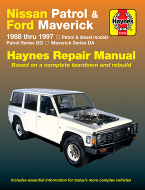 Nissan Patrol (1988-1997) & Ford Maverick (1988-1994) Haynes Online Manual