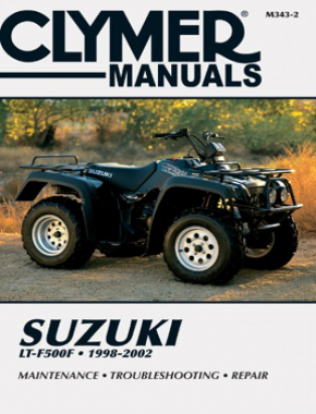 Suzuki LTF500 Series Quad Runner ATV (1998-2002) Service Repair Manual Online Manual