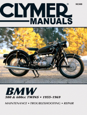 BMW 500 & 600cc Twins Motorcycle (1955-1969) Service Repair Manual