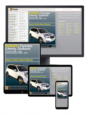 Subaru Forester 2008-2018, Liberty/Outback 2009-2019 Online Manual
