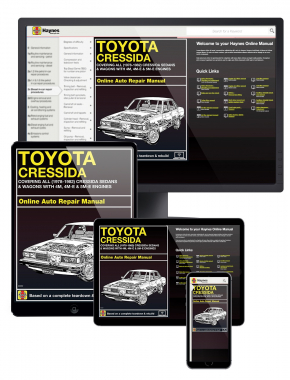 Toyota Cressida Sedans & Wagons with 4M, 4M-E & 5M-E Engines (78-82)  Haynes Online Manual
