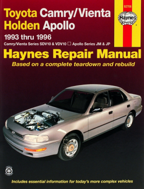 Toyota Camry & Holden Apollo (93-96) Haynes Online Manual