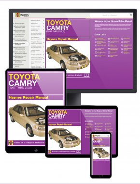 Toyota Camry (97-02) Haynes Online Manual