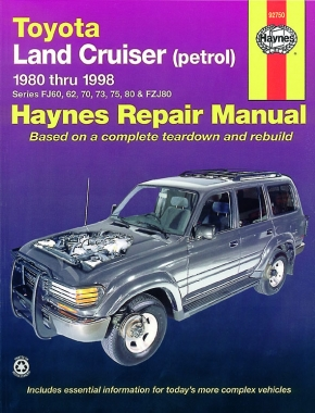 Toyota Land Cruiser Petrol (80-98) Haynes Repair Manual