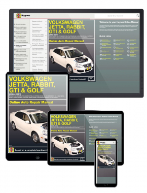 VW Jetta, Rabbit, GTI & Golf (05-11) Haynes Online Manual