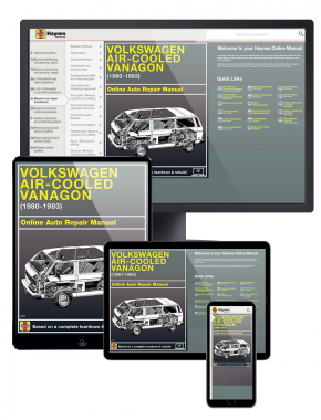 VW Air-Cooled Vanagon (80-83) Haynes Online Manual