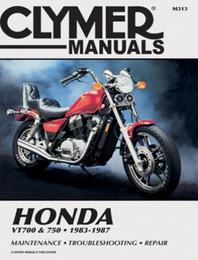 Honda VT700 & VT750 Shadow Motorcycle (1983-1987) Service Repair Manual