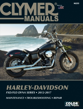 Harley-Davidson FXD/FLD Dyna Series (12-17) Clymer Repair Manual