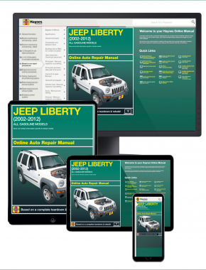 Jeep Cherokee 2002-2012 Haynes Online Manual