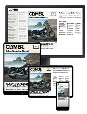 Harley-Davidson FXD/FLD Dyna Series 2012-2017 Clymer Online Repair Manual