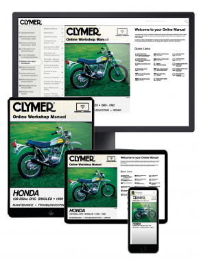 Honda 100-350cc OHC Singles Motorcycle (1969-1982) Clymer Online Manual