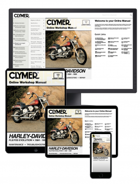 Harley-Davidson FLS-FXS Evolution, Evo Softail, Fat Boy (1984-1999) Clymer Online Manual