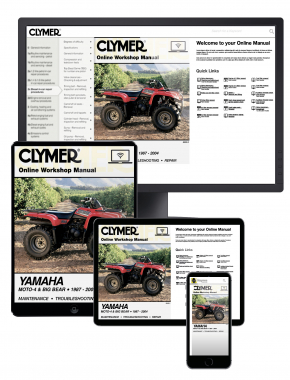 Yamaha Moto-4 & Big Bear ATV 1987-2004 Clymer Online Manual
