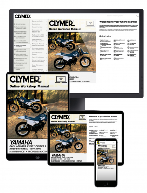 Yamaha PW50/80 Y-Zinger & BW80 Big Wheel Motorcycle (1981-2002) Clymer Online Manual