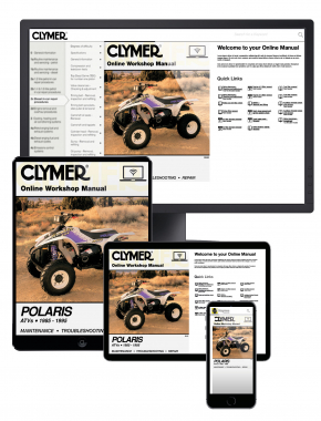 Polaris ATVS,1985-1995 Clymer Online Manual