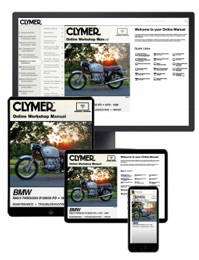 BMW Airhead R50/5 through R100GS PD (1970-1996) Clymer Online Manual