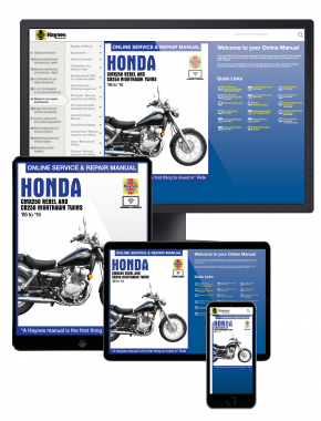 Honda CMX250 Rebel and CB250 Nighthawk Twins 1985-2016 Haynes Online Manual