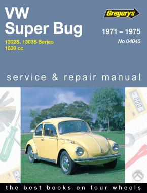 Volkswagen Superbug (71 - 75) Gregorys Repair Manual