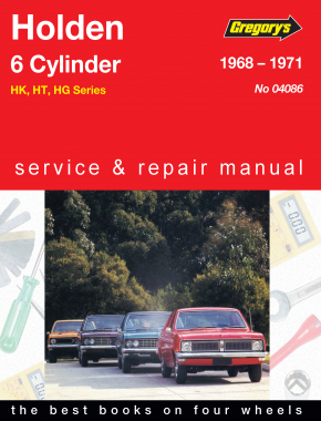 Holden Belmont, Kingswood, Monaro, Premier 6 Cylinder (68 - 71) Gregorys Repair Manual