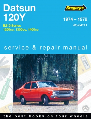 Datsun 120Y (74 - 79) Gregorys Repair Manual