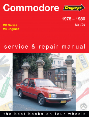 Holden Commodore (78 - 80) Gregorys Repair Manual