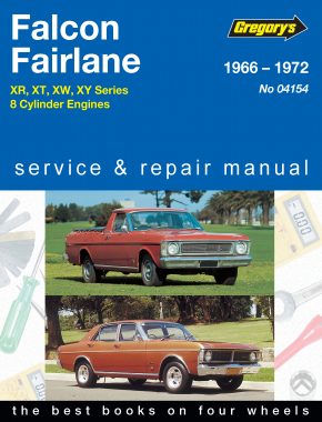 Ford Falcon and Fairlane 8 Cyl (66 - 72) Gregorys Repair Manual