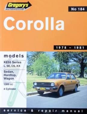 toyota corolla 78 81 gregorys repair manual haynes manuals rh haynes com gregory car manuals pdf Kelly Davis