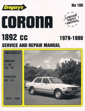 Toyota Corona (79 - 80) Gregorys Repair Manual