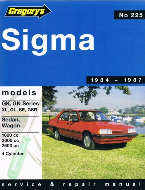Mitsubishi Sigma (84 - 87) Gregorys Repair Manual
