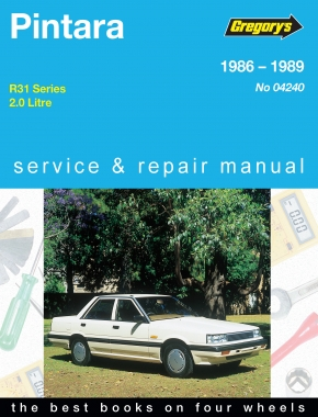 Nissan Pintara (86 - 89) Gregorys Repair Manual
