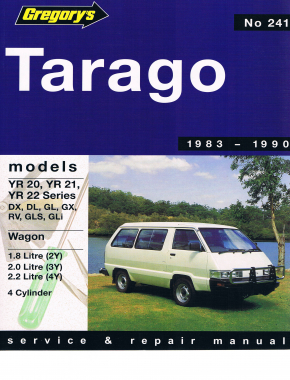 Toyota Tarago (83 - 90) Gregorys Repair Manual