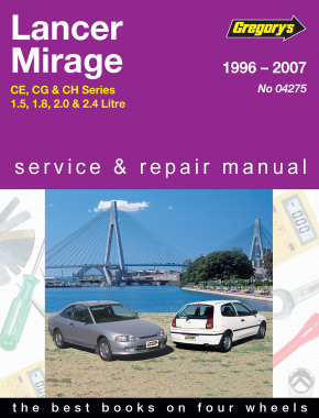 Mitsubishi Lancer (96 - 07) Gregorys Repair Manual