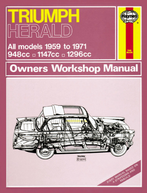 Triumph Herald (59 - 71) up to K Haynes Repair Manual (Classic Reprint)