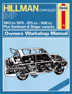 Hillman Imp Petrol (63-76) up to R Haynes Repair Manual (Classic Reprint)