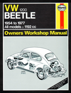 VW Beetle 1200 (54 - 77) Haynes Repair Manual