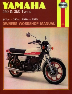 Yamaha 250 & 350 Twins 1970-1979 Haynes Repair Manual