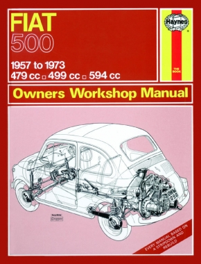 Fiat 500 (57 - 73) Haynes Repair Manual