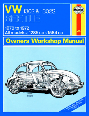 VW 1302 & 1302S (70 - 72) Haynes Repair Manual