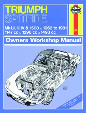 Triumph Spitfire (62 - 81) Haynes Repair Manual