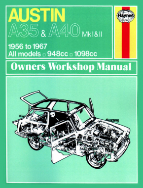Austin A35 & A40 (1956 - 1967) Haynes Repair Manual