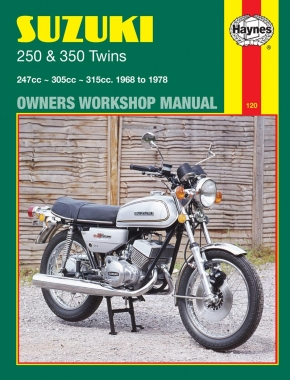 Suzuki 250 & 350 Twins (68 - 79) Haynes Repair Manual