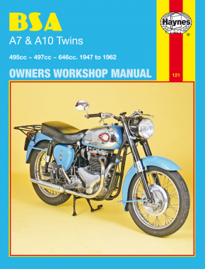 BSA A7 & A10 Twins (47 - 62) Haynes Repair Manual