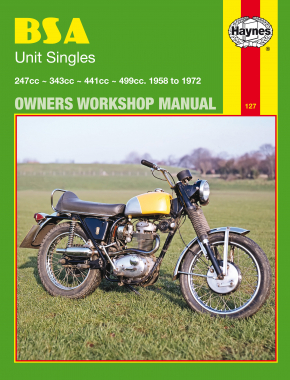 BSA Unit Singles (58 - 72) Haynes Repair Manual