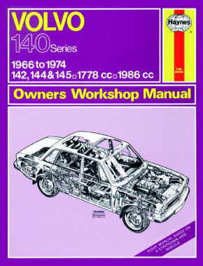 Volvo 142, 144 & 145 (66 - 74) Haynes Repair Manual