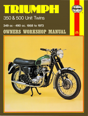 Triumph 350 & 500 Unit Twins (58 - 73) Haynes Repair Manual